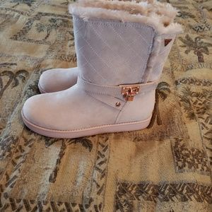 New guess pink short boots